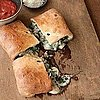 Easy Spinach and Italian Sausage Calzone Recipe