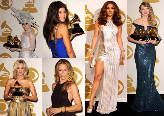 Photos From the 2010 Grammy Awards Press Room