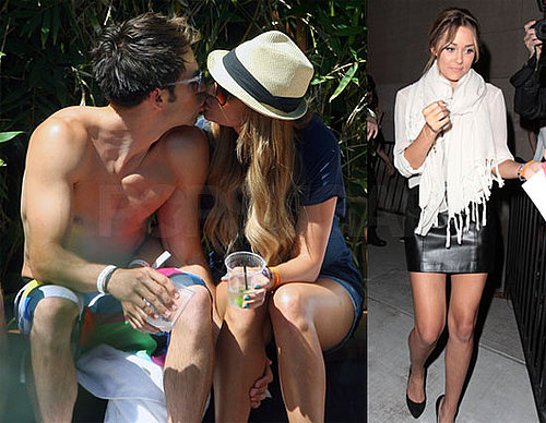 Photos of Lauren Conrad Kissing Kyle Howard at a Hotel in LA