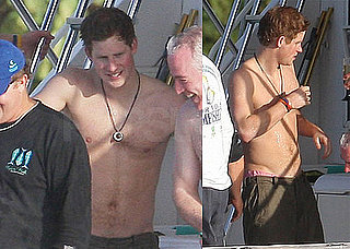 Poll of Prince Harry Shirtless Fishing in Caribbean