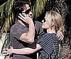 Slide Photo of Stephen Moyer and Anna Paquin Hugging in Santa Monica