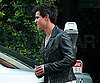 Slide Photo of Taylor Lautner at Mr. Chow in LA