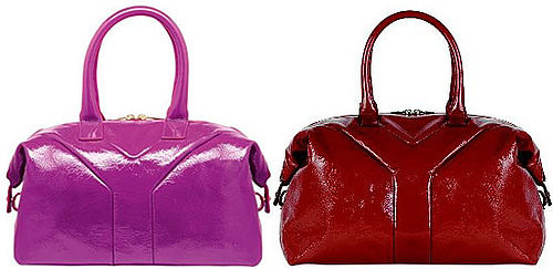 Yves Saint Laurent Red and Pink Easy Totes
