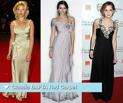 BAFTA Red Carpet from 2002-2009