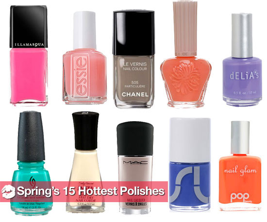 Sneak Peek: The 15 Hottest New Nail Polishes For Spring