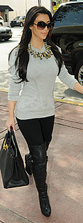 Kim Kardashian in Miami For 2010 Super Bowl 2010-02-04 11:45:00