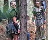 Photos of Sam Worthington on The Set of Clash of The Titans in Wales