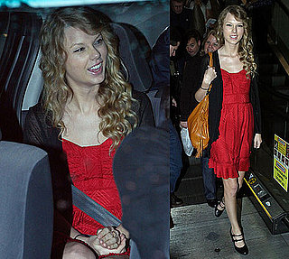 Photos of Taylor Swift in Sydney Amid Rumors of Romance With John Mayer and Grammy Singing Controversy