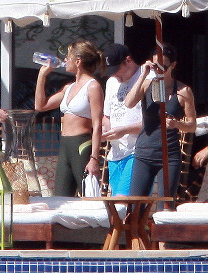 Photos of Aniston and Cox in Mexico