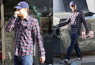 Photos of Leonardo DiCaprio in LA Buying Jewelry Without Bar Refaeli