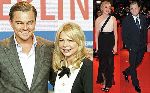 Photos of Michelle Williams, Leonardo DiCaprio, Mark Ruffalo, And Martin Scorsese Promoting Shutter Island in Berlin