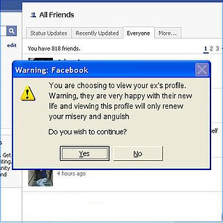 Facebook Ex Warning