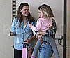 Slide Photo of Jennifer Garner Picking Up Violet