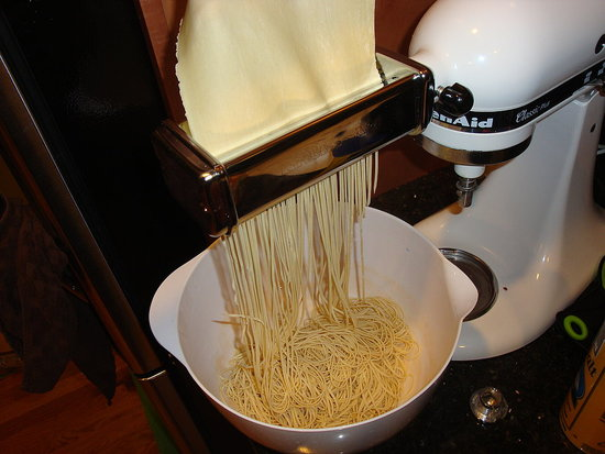 Spaghetti-Making Fun