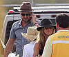 Slide Photo of Jennifer Aniston and Gerard Butler Leaving Mexico