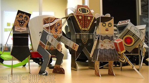 BioShock 2 Paper Crafts