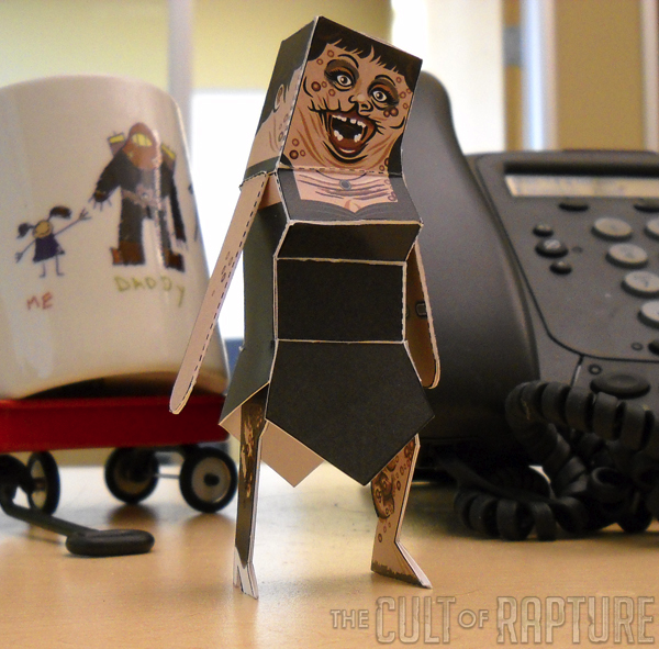 Photos of BioShock 2 Papercrafts