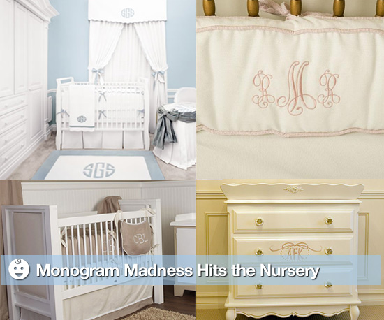 Monogram Madness Hits the Nursery