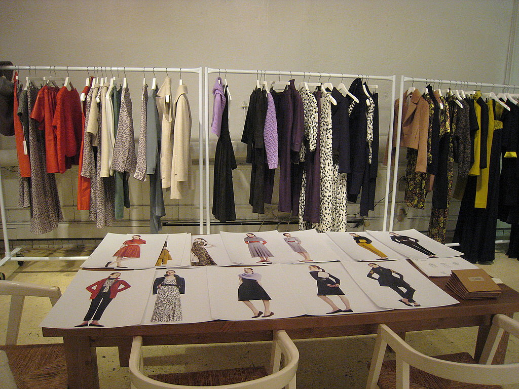 Fall 2010 Collection in Lyn Devon's Studio