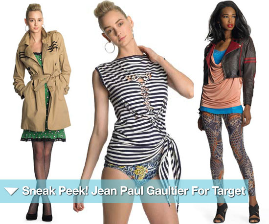 Sneak Peek! The Entire, 20-Look Jean Paul Gaultier For Target Line