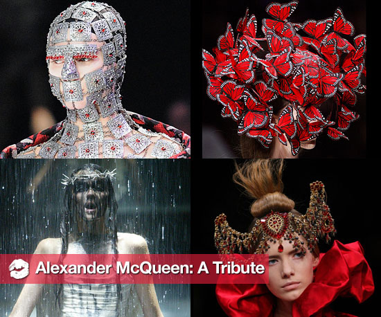 Alexander McQueen&#039;s Best Runway Beauty Moments 2010-02-11 11:10:29