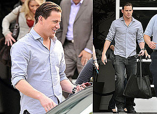 Photos of Channing Tatum Arriving at Chelsea Lately