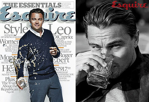 Photos of Leonardo DiCaprio Looking Like Frank Sinatra on the Cover of Esquire Magazine