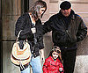 Slide Photo of Katie Holmes and Suri Cruise in NYC