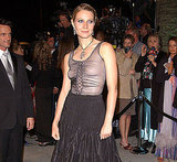 Gwyneth Paltrow chose a goth black gown for the Oscars in 2002.
