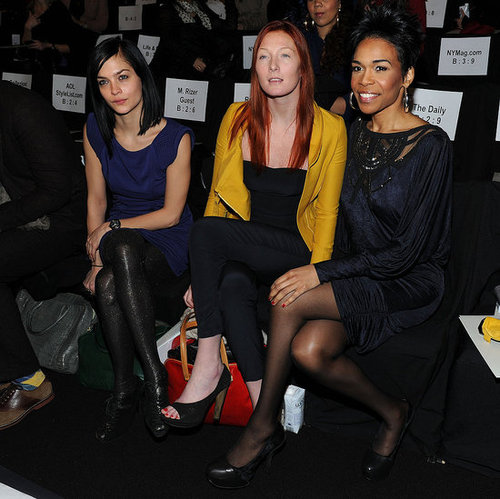 Celebrities at New York Fall Fashion Week 2010-02-11 18:17:49