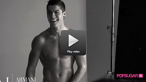Are You Warming to Cristiano Ronaldo as the Face of Armani 2010-02-13 08:00:26