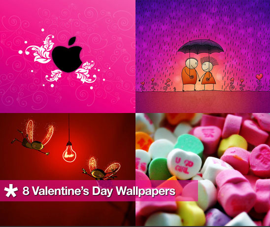 Dress Your Computer For Valentine&#039;s Day