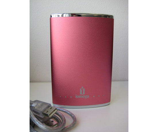 Iomega Portable Hard Drive ($100)