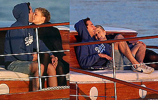 Photos of Shia LaBeouf and Carey Mulligan Kissing on a Boat on Valentine's Day