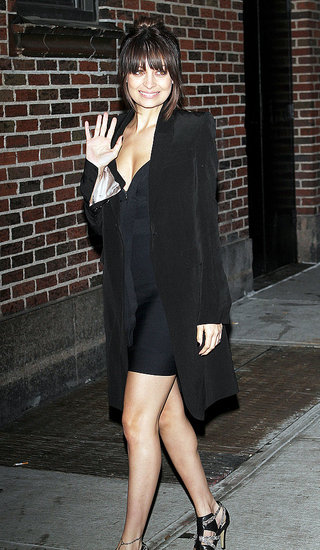 Photos of Nicole Richie on Letterman Engaged