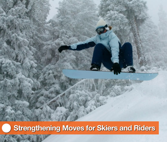 Strength Training Moves For Skiers and Snowboarders