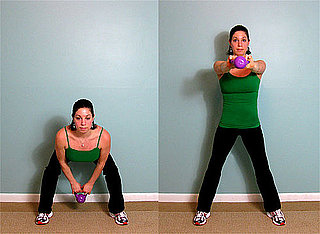How to Strengthen Legs With a Kettlebell