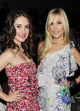 Alison Brie and Tinsley Mortimer