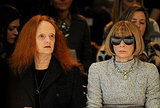 Vogue's Grace Coddington and Anna Wintour