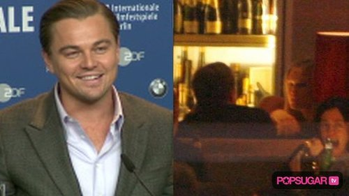 Leonardo DiCaprio and Bar Refaeli on Valentine's Day