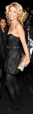 AnnaLynne McCord Style at New York Fashion Week