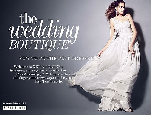 Net-A-Porter Relaunches Bridal Boutique