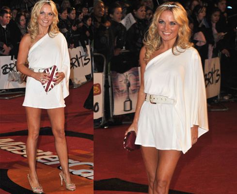Photos of Geri Halliwell at the 2010 Brit Awards