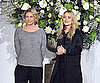 Slide Photo of Mary-Kate and Ashley Olsen at The Row Fashion Show