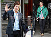 Photos of Peter Facinelli Leaving Katsuya in LA Wearing a Green Jacket