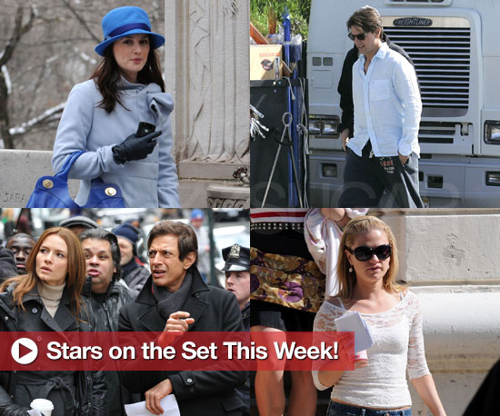 Slideshow of Stars on Set Including Leighton Meester, Tom Cruise, Anna Paquin