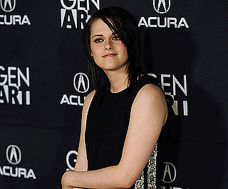 Slide Photo of Kristen Stewart at The Yellow Hankerchief Premiere