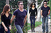 Photos of Simon Cowell With Mezhgan Hussainy in LA