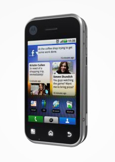 Motorola Backflip Welcomed on AT&T Network