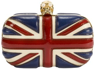 Alexander McQueen British Flag Clutch